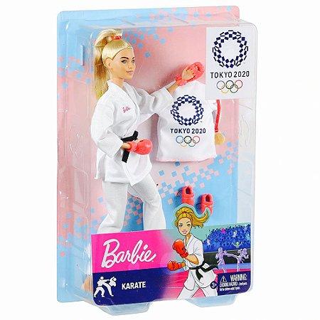 Barbie Esportista Olímpica Karatê Mattel