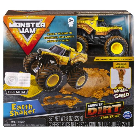 Kit Rampa Monster Jam Dirt - Starter Earth Shaker - Sunny