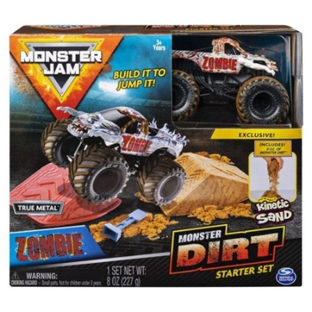 Kit Rampa Monster Jam Dirt  Zombie Sunny