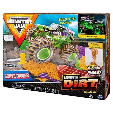 Playsert Monster Digger Monster Jam com Pista