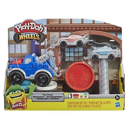 Conjunto Massinhas  Play-Doh  Wheels  Reboque Hasbro