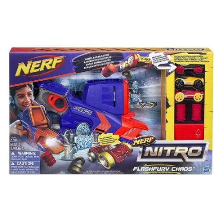 Nerf Nitro Lançador de Carro Flashfury Chaos - Hasbro