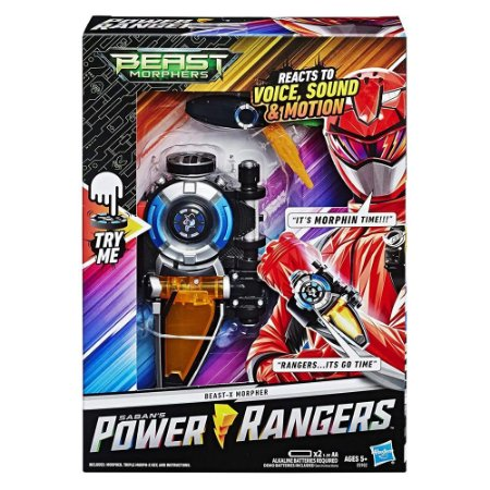 Power Rangers Beast Morphers Morfador BeastX Hasbro