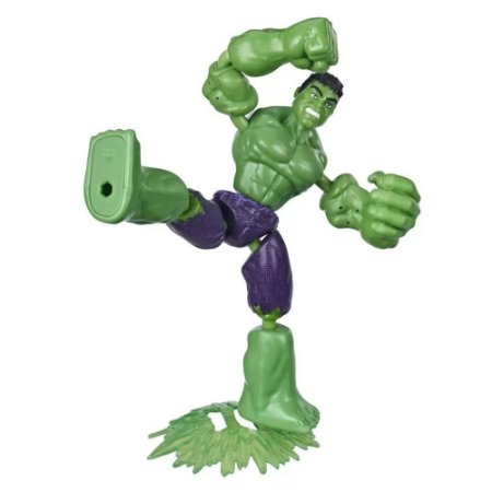 Boneco Hulk Bend and Flex Marvel Avengers Hasbro
