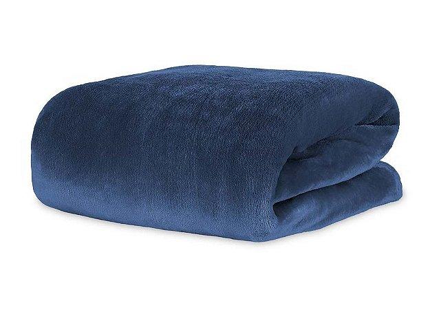 Cobertor Manta Blanket Queen 300g Blue Night - Kacyumara
