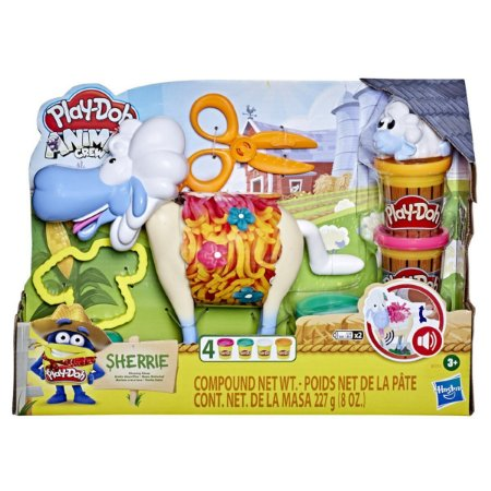 Massa de Modelar Ovelha Bebel Play Doh Animal Crew Hasbro