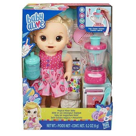 Boneca Baby Alive Misturinha Loira Hasbro