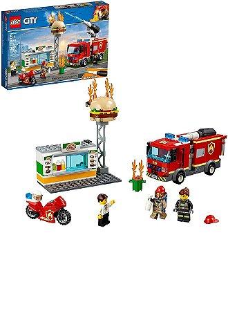 LEGO City 60214 Hambúrguer bar resgate de incêndio
