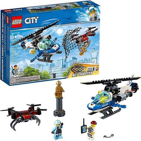 LEGO City 60207  Polícia sobrevoando em busca do zangão