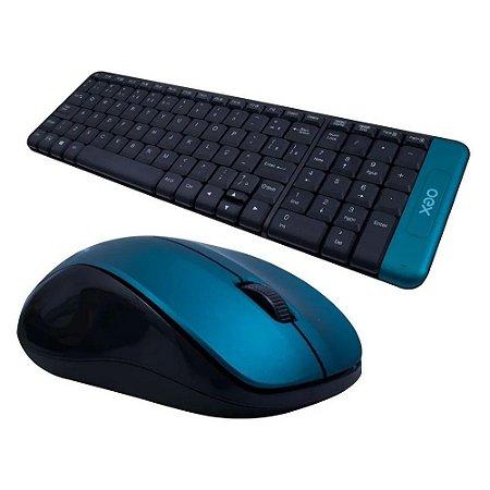 Combo Blend com Teclado e Mouse S/Fio OEX