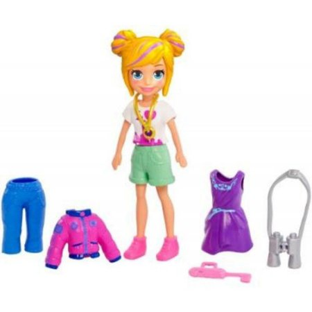 Boneca Polly Pocket Kit New York Fashion
