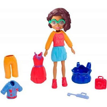 Boneca Polly Pocket Kit NYC Style