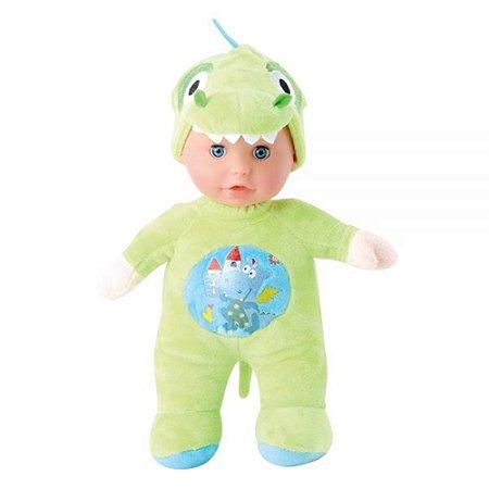 Boneca Baby Fofys Dino Com Som DM Toys