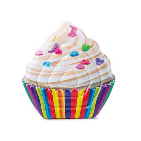 Colchão inflável Para Piscina Cupcake Mat Intex