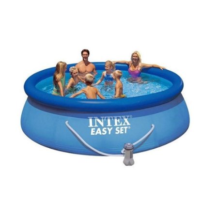 Piscina Inflável Easy Set 5621 Litros Com Bomba 127V Intex