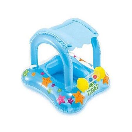 Boia Infantil com Cobertura Baby Float Intex