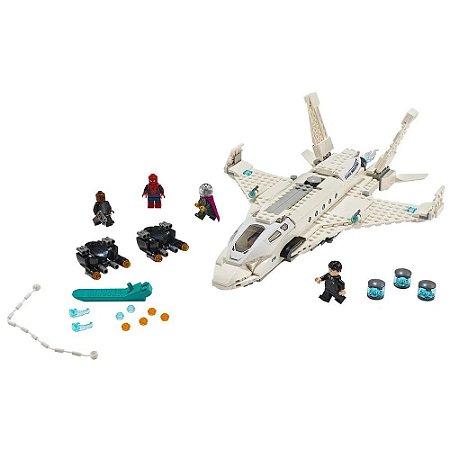LEGO Spider Man Avião a jato e o ataque de drone 76130