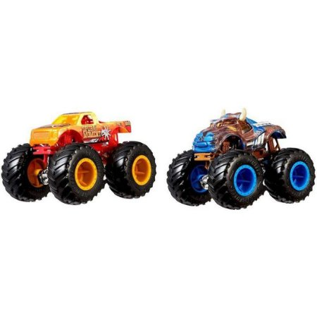 Pack 02 Monster Truck Demolition Doubles Hot Wheels