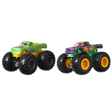 Pack 02 Monster Truck Demolition Doubles Mattel