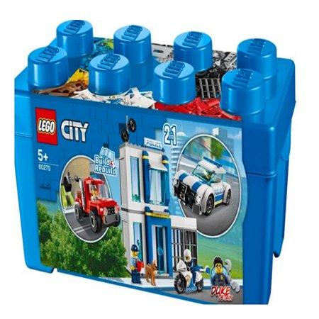 LEGO City  60270 -   Caixa de tijolo da polícia 2 em 1