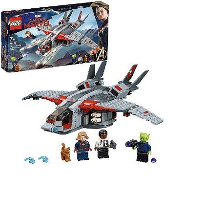 LEGO Avengers 76127 -   Capitã maravilha e o ataque Skrull