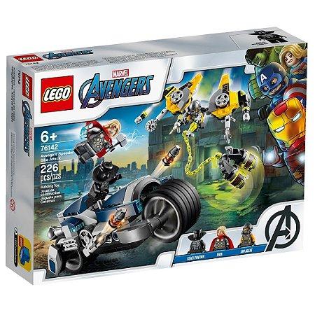 LEGO Avengers 76142 -  Vingadores & Ataque de bicicleta
