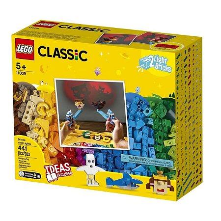 Lego Classic Peças e Luzes 11009