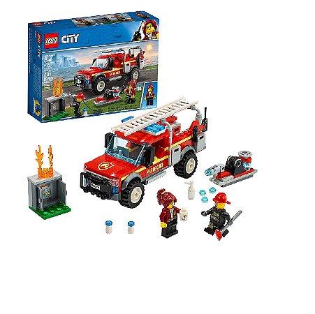 LEGO City Caminhão do Chefe dos Bombeiros 60231