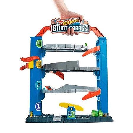 Pista Hot Wheels City Garagem De Manobras Mattel