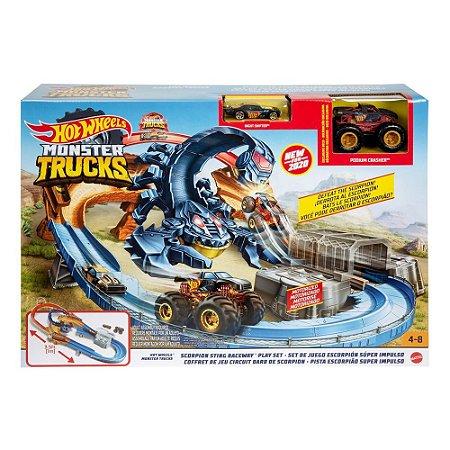Pista Hot Wheels Monster Trucks Escorpião Mattel