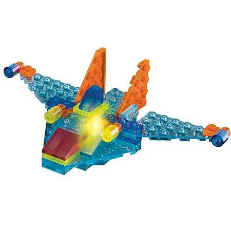 Light Blocks Aeronaves 4 Em 1 Xalingo