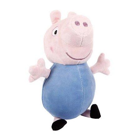 Boneco De Pelúcia George Peppa Pig 30 cm  Estrela