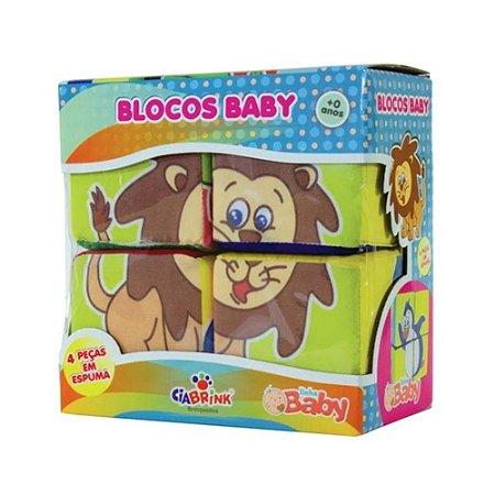 Quebra-Cabeça Blocos Baby com Guizo - Ciabrink