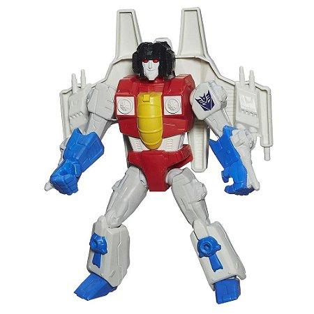 Boneco Starscream Transformers Hero Mashers Hasbro