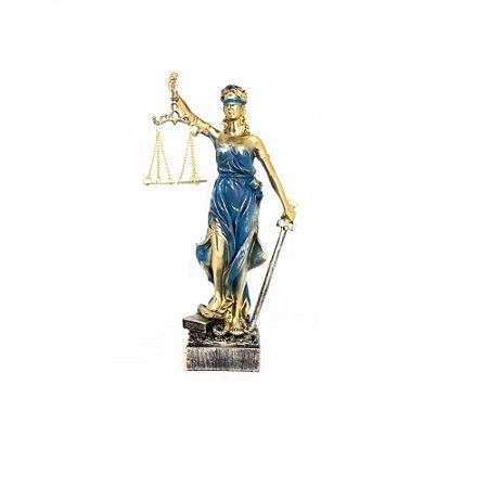 Themis Deusa da Justiça em Resina 34 cm