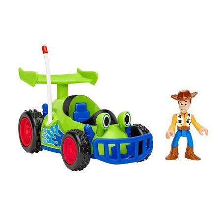 Carrinho Toy Story Woody & RC Mattel