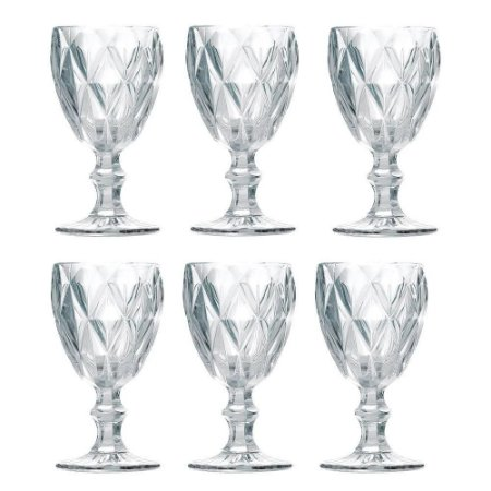 Taça Class Home Diamante Clear 260ml