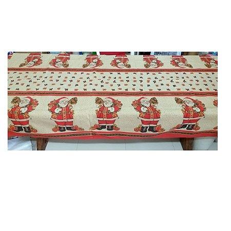 Toalha de Mesa Natal Linhão Papai Noel em Pé  3,50 m Raner