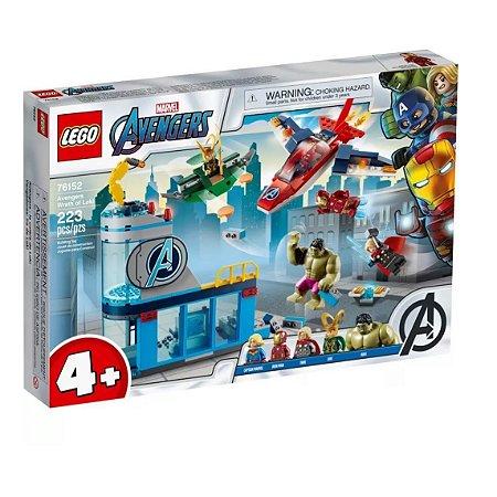 Lego Vingadores A Ira de Loki 76152