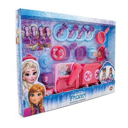 Panelinhas Brincar de Cozinha Frozen Toyng