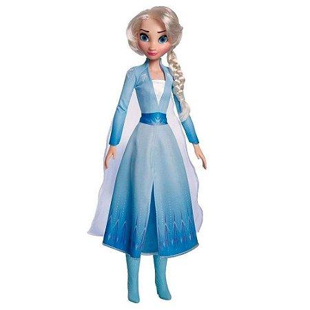 Boneca Princesa Elsa 50 cm  - Frozen Disney Baby brink
