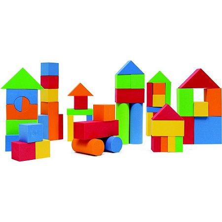 Blocks Em EVA 54 Peças Buba