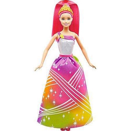 Boneca Barbie Princesa Arco Íris Mattel -DPP90