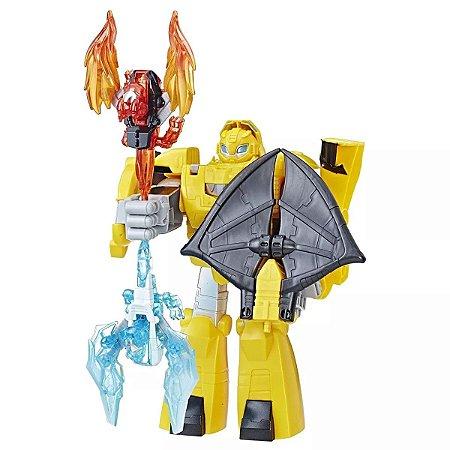 Boneco Tansformers Rescue Bots Cavaleiro Bumblebee C122