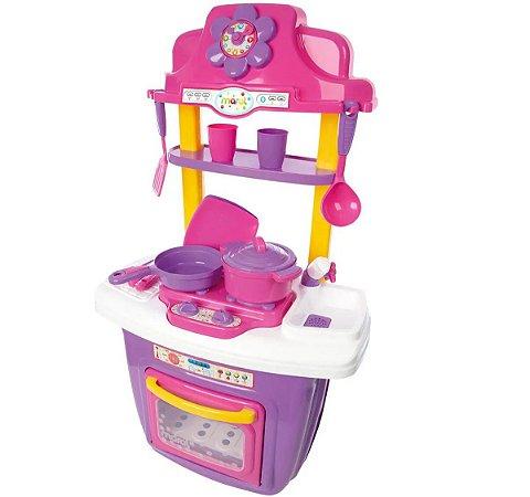 Mini Cozinha Infantil Portátil Maral