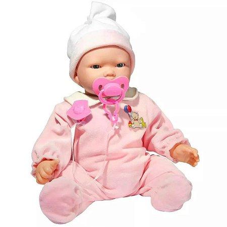 Bebê Carinhas Multi Funções Baby Brink