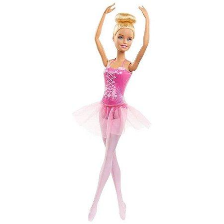 Barbie Boneca Bailarina Rosa Mattel