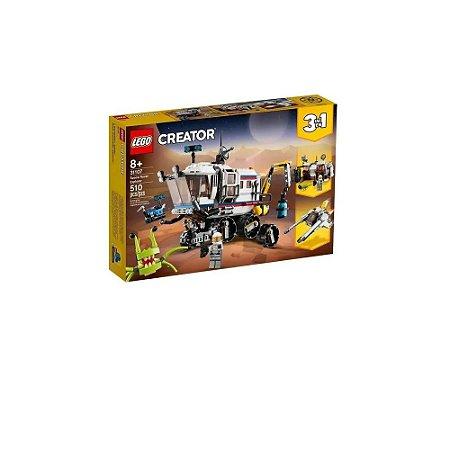 Lego Creator Explorador do Rover Espacial 3 em 1 Cod. 31107