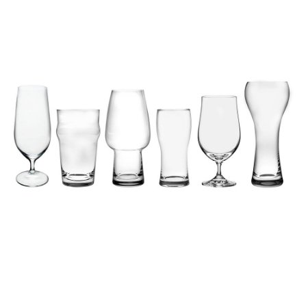 Kit Copos Cerveja Bierhaus Cristal Eco Bohemia - 06 Taças