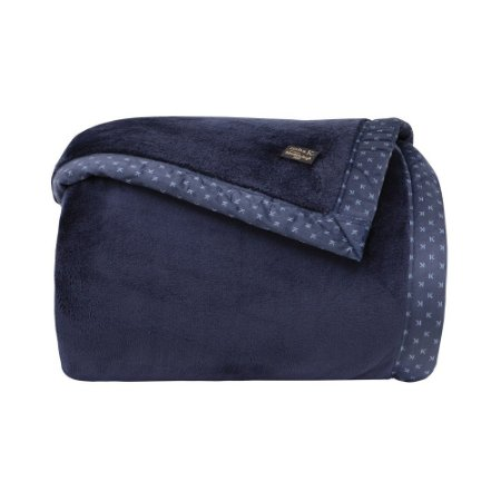 Cobertor Manta Blanket 700 Casal Azul Marinho  - Kacyumara